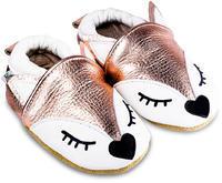 Capáčky kožené - liška Ariana vel. M, M (10,2cm - 11,4cm)