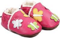 Capáčky kožené - růžové motýlci