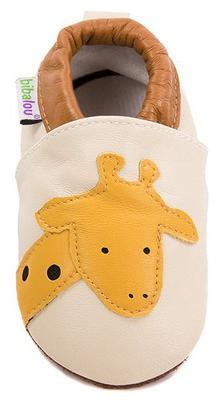 Capáčky kožené - žirafa - 2