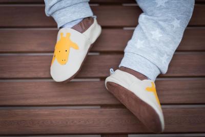 Capáčky kožené - žirafa - 5